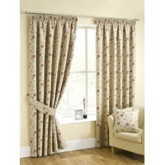 Isla chintz pencilpleat readymade curtains