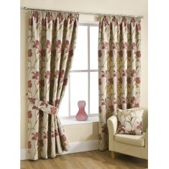Lily chintz pencilpleat readymade curtains