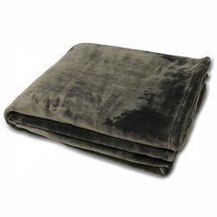 Colorado faux fur throw,grey, 140x180cm