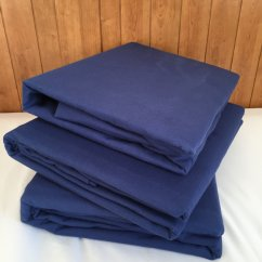 Premium Brushed cotton flannelette sheets - navy