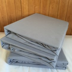 Premium Brushed cotton flannelette sheets - grey
