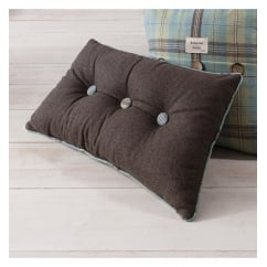 Button duckegg accessory oblong cushion