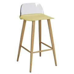 Chelsea lime bar stool (pair)