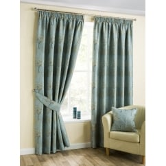 Arden duckegg pencil readymade curtains