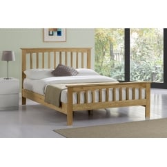 Alderley solid oak slatted bed
