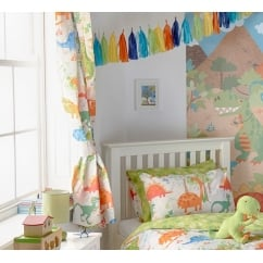 Dinosaur multi kids curtains