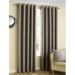 Ziggi Heather eyelet ready made curtain