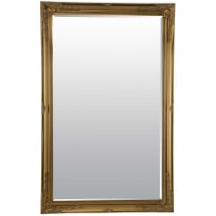 Buxton gold ornate mirror 170 x 109cm