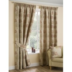 Arden chintz pencil readymade curtains