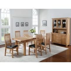 Carlingford 150cm extending dining table