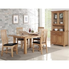 Carlingford 120cm extending dining table