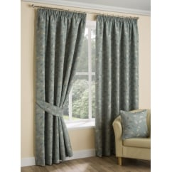 Oakley duckegg pencil pleat readymade curtains