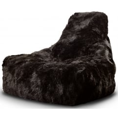 Mighty b brown fur beanbag