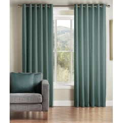 Addo teal readymade eyelet curtains
