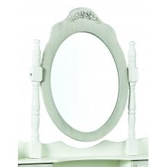 Brittany vintage shabby chic dressing table mirror