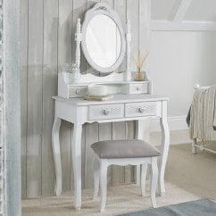 Brittany vintage shabby chic dressing table base