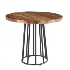 Coastal round dining table