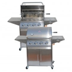 Stainless steel Four burner gas bbq