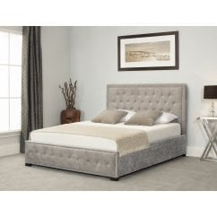 Albany natural stone fabric ottoman bed